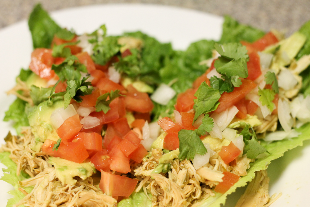 how to cut lettuce for tacos